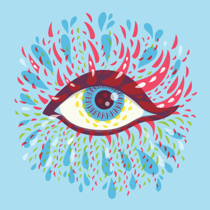Weird eyes 2016 - Behance project by Boriana Giormova