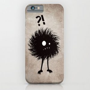 Evil wondering bug iPhone case