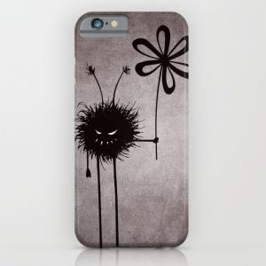 Evil bugs iPhone cases with the Evil Flower Bug