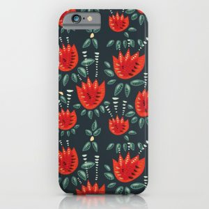 Tulip pattern iPhone case / Society6