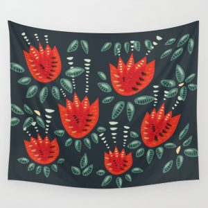 Tulip pattern tapestry / Society6