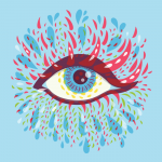 Psychedelic Eye featured at Redbubble Found