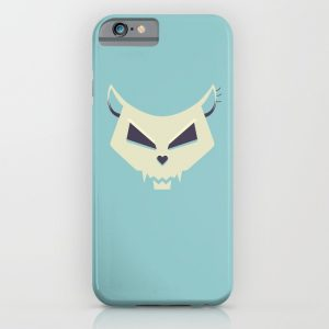 Pastel Skull iPhone case / Society6