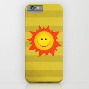 Happy Sun iPhone case / Society6