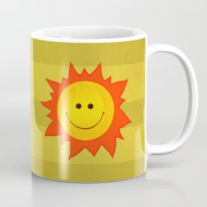 Happy Sun mug / Society6