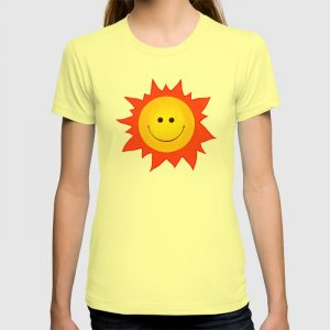 Happy Sun customizable tee / Society6