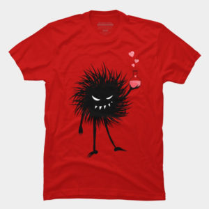 Love t-shirts with an Evil Bug With Love Potion at Design By Humans