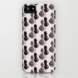Chess art iPhone case at Society6