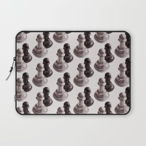 Chess art laptop sleeve at Society6