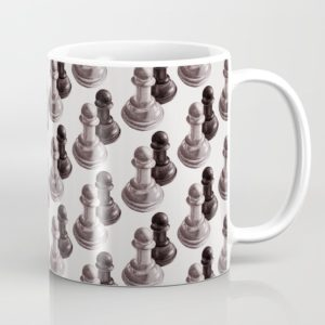 Chess art mug at Society6
