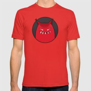 Evil monster tee at Society6