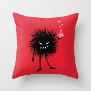 Evil bug chemist with love potion pillow at Society6