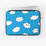 Funny clouds laptop sleeve / Redbubble