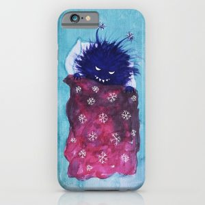 Evil bug goes to sleep iPhone case at Society6