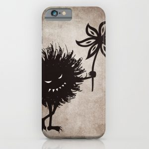 Evil bug gives flower iPhone case