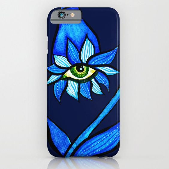 Weird Eyes iPhone Cases