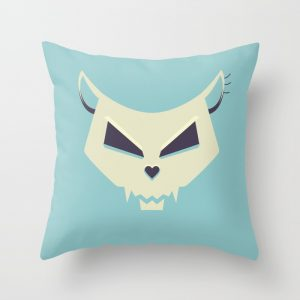 Pastel Skull pillow / Society6