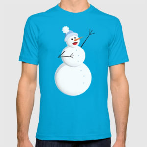Singing snowman shirt at Society6