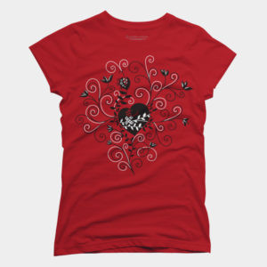 Mended Broken Heart Women's T-Shirt at Design By Humans