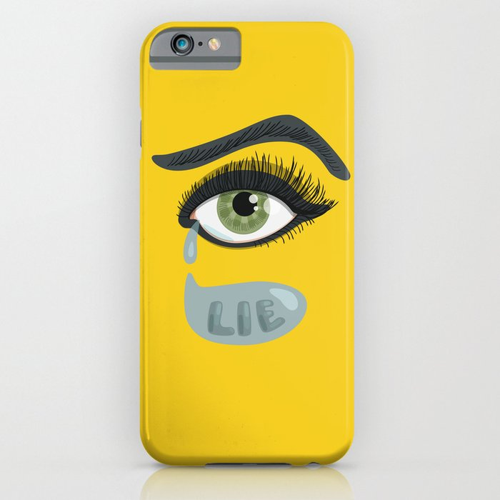 green eye iPhone case