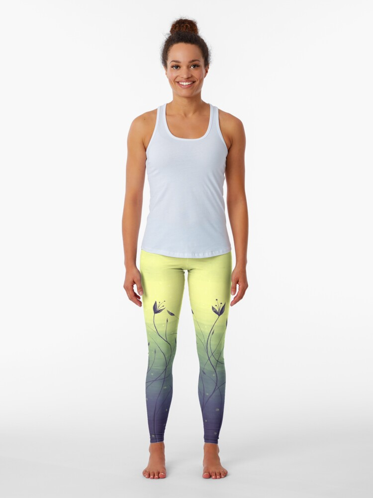 Water plants leggings